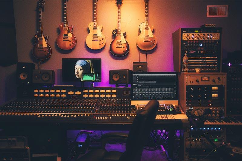 Studio Gitaren